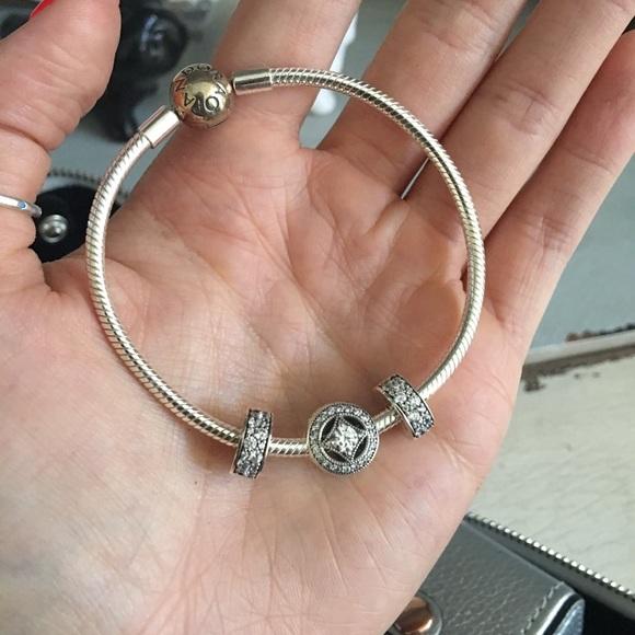 Pandora Elegance Bracelet Gift Set